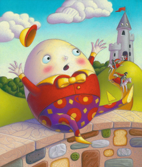 Free Book Presentations in English and Russian - Humpty Dumpty