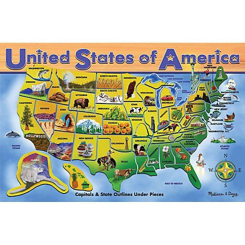 We live in the USA! - our introduction to geography