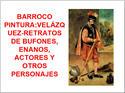 BARROCO-PINTURA-VELÁZQUEZ-BUFONES