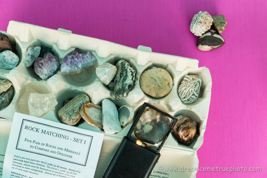 Geology ROCK-n-Learn for kids. Best rocks & minerals play activities.