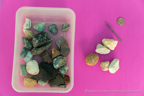 Rock Hunters - identifying, sorting, studding rocks with kids.  Fun introduction to Geology.