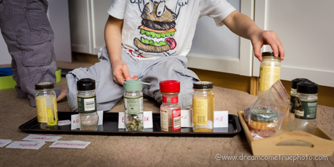 SCENTsational activities to develop sense of smell