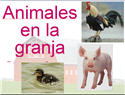 Introductory Words - Spanish - Animals on the farm