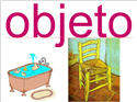 Introductory Words - Spanish - Objects
